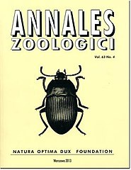Annales zoologici cover 63(4).jpg