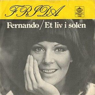 Fernando (song) - Image: Anni Frid Lyngstad Fernando