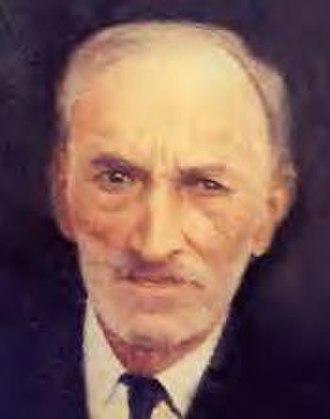 Antonio Vélez Alvarado - Co-founder of the Puerto Rican Nationalist Party