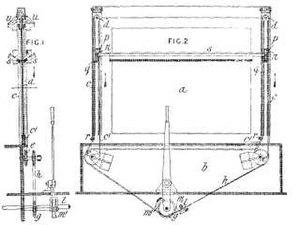 Windscreen wiper - Apjohn's 1903 window cleaning apparatus design