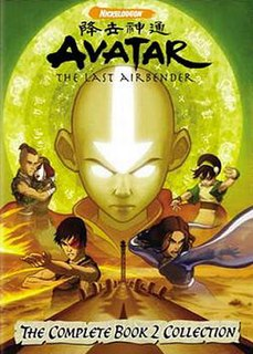 <i>Avatar: The Last Airbender</i> (season 2) Second season of Avatar: The Last Airbender animation series
