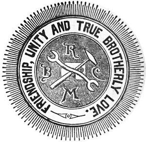 Brotherhood of Railway Carmen - Image: BRC logo