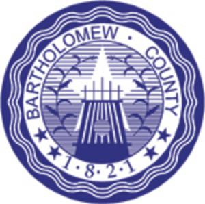Bartholomew County, Indiana - Image: Bartholomew County, Indiana seal