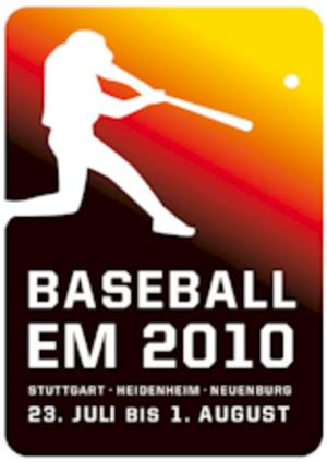 2010 European Baseball Championship - Image: Baseball EM 2010