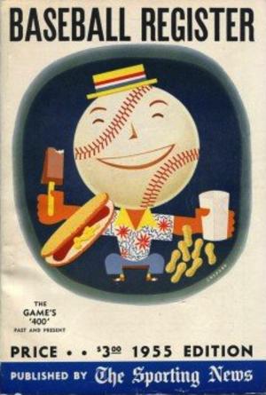 Baseball Register - 1955 edition