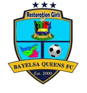 Bayelsa Queens F.C. - Image: Bayelsa Queens official 2017 logo
