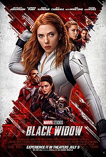 <i>Black Widow</i> (2021 film) Superhero film produced by Marvel Studios