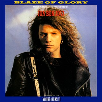 Blaze of Glory (Jon Bon Jovi album) - Image: Blaze Of Glory Japan Front