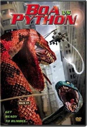 Boa vs. Python - DVD cover