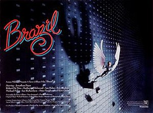 Brazil (1985 film) - Theatrical release poster