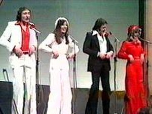 Brotherhood of Man - Performance at Eurovision in 1976