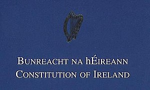Constitution of Ireland - Image: Bunreacht Head