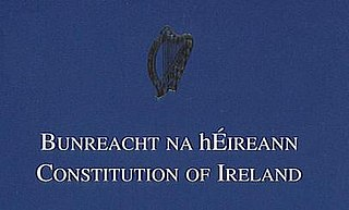 Constitution of Ireland National democratic constitution