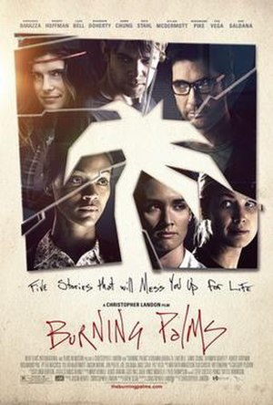 Burning Palms (film) - Theatrical release poster