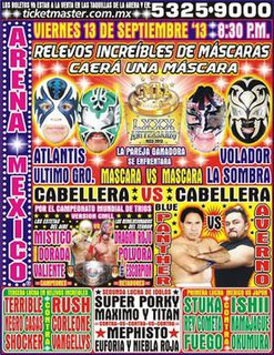 CMLL 80th Anniversary Show Mexican professional wrestling supercard show