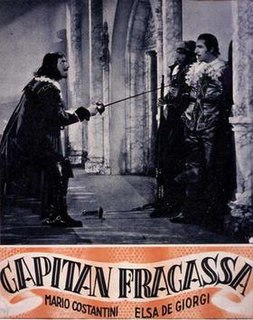 <i>Captain Fracasse</i> (1940 film) 1940 film by Duilio Coletti