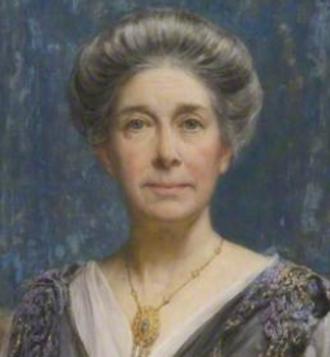 Catherine Osler - crop of Edward S. Harper portrait