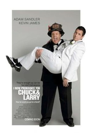 I Now Pronounce You Chuck & Larry - Theatrical release poster