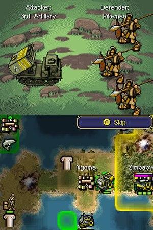 Civilization Revolution - Nintendo DS version.