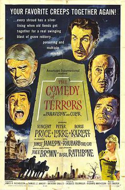 Picture of a movie: The Comedy Of Terrors