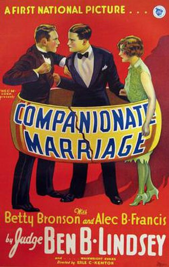 Companionate Marriage - Image: Companionate Marriage