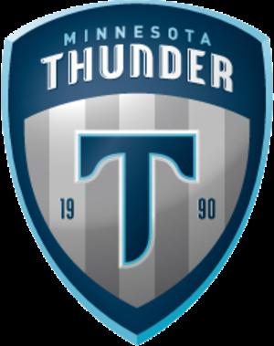 Minnesota Thunder - Image: Crest Thunder 2