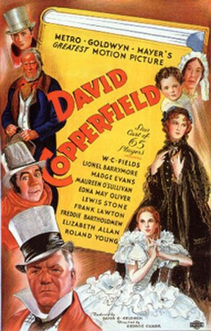 David Copperfield (1935 film) - 1935 US theatrical poster
