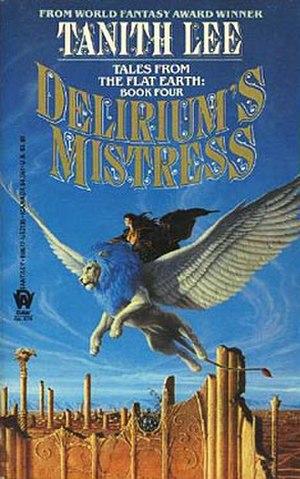 Delirium's Mistress - First edition cover of Delirium's Mistress
