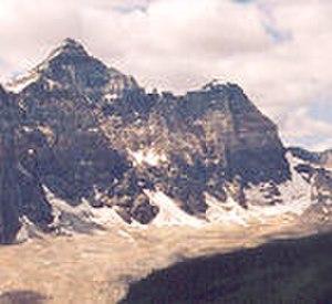 Deltaform Mountain - South face of Deltaform Mtn. from Mount Babel