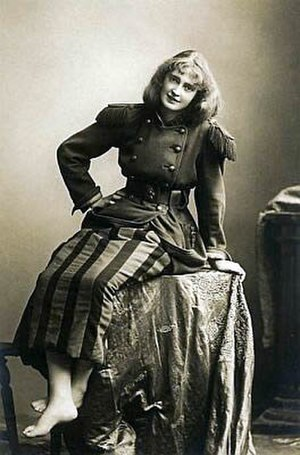 Dorothea Baird - Dorothea Baird in the title role of the original production of Trilby