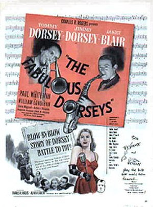 The Fabulous Dorseys - Image: Dorseysfilmposter