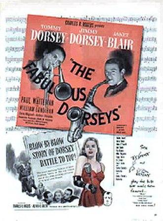 The Fabulous Dorseys - Image: Dorseysfilmposter