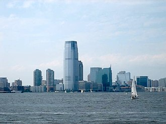 Downtown Jersey City - View of Downtown focused around the Goldman Sachs Tower