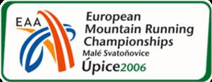 2006 European Mountain Running Championships - Image: EAA EMRC 2006