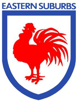 History of the Sydney Roosters - The Eastern Suburbs logo, worn on jerseys between 1978 and 1994.