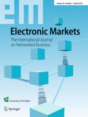 Electronic Markets (journal) - Image: Electronic Markets