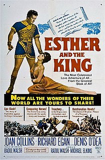<i>Esther and the King</i> 1960 film by Mario Bava, Raoul Walsh