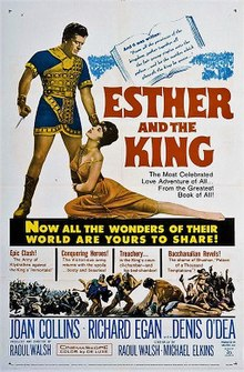 Image result for queen esther and the king 1960
