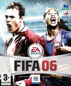 Image result for fifa 06 Ireland cover ps2