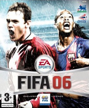 FIFA 06 - Image: FIFA 06 UK cover