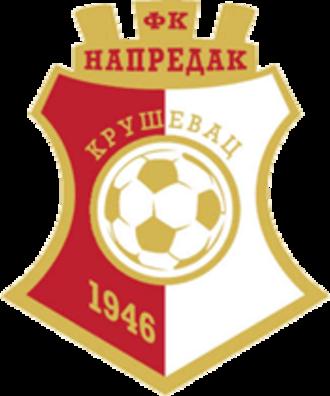 FK Napredak Kruševac - Image: FK Napredak Krusevac transparent logo