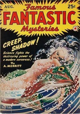 Famous Fantastic Mysteries August 1942 cover