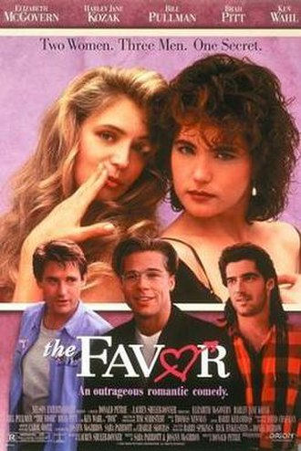 The Favor - Theatrical release poster
