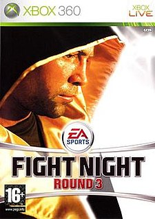 <i>Fight Night Round 3</i> boxing video game developed by EA Sports
