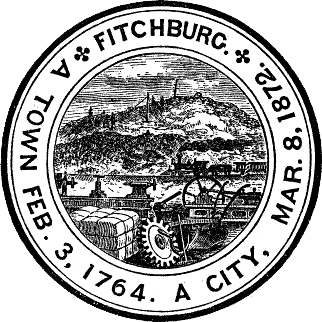 Official seal of Fitchburg, Massachusetts