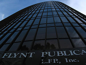 Larry Flynt - LFP, Inc. headquarters in Beverly Hills