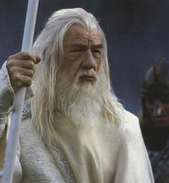 Gandalf - Ian McKellen as Gandalf the White in TheTwo Towers (2002)