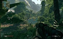The game's jungle environment