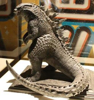 Godzilla (2014 film) - An early prototype of Legendary's Godzilla design was displayed at the Godzilla Encounter exhibit.