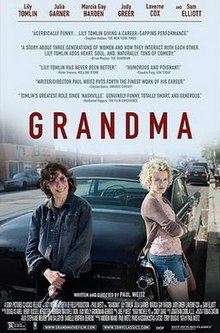 Grandma, the movie, theatrical release poster